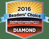 Readers' Choice - Diamond Winner 2016
