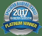 Readers' Choice - Platinum Winner 2017